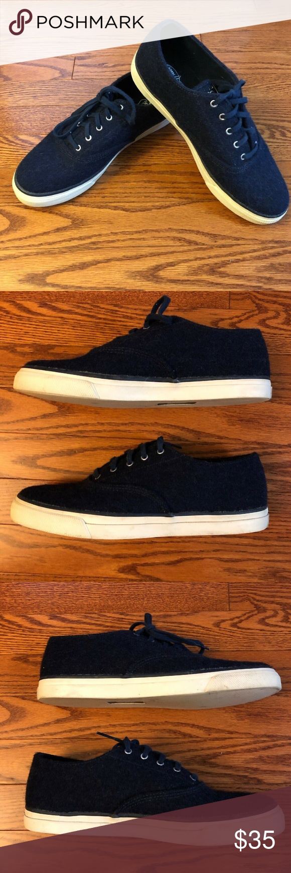 Sperry topsiders Captains CVO Wool Boat