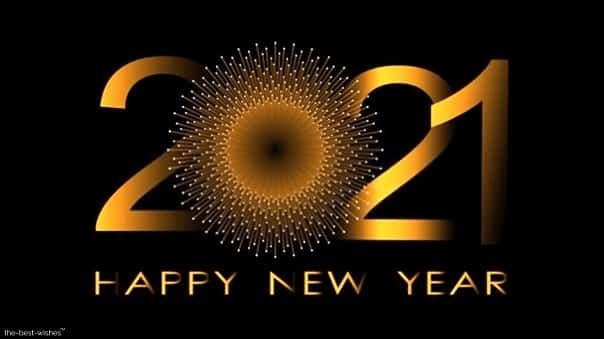 Happy New Year 2021 Wishes Quotes Messages [ Best Images ] in 2020 | Happy new year wallpaper ...