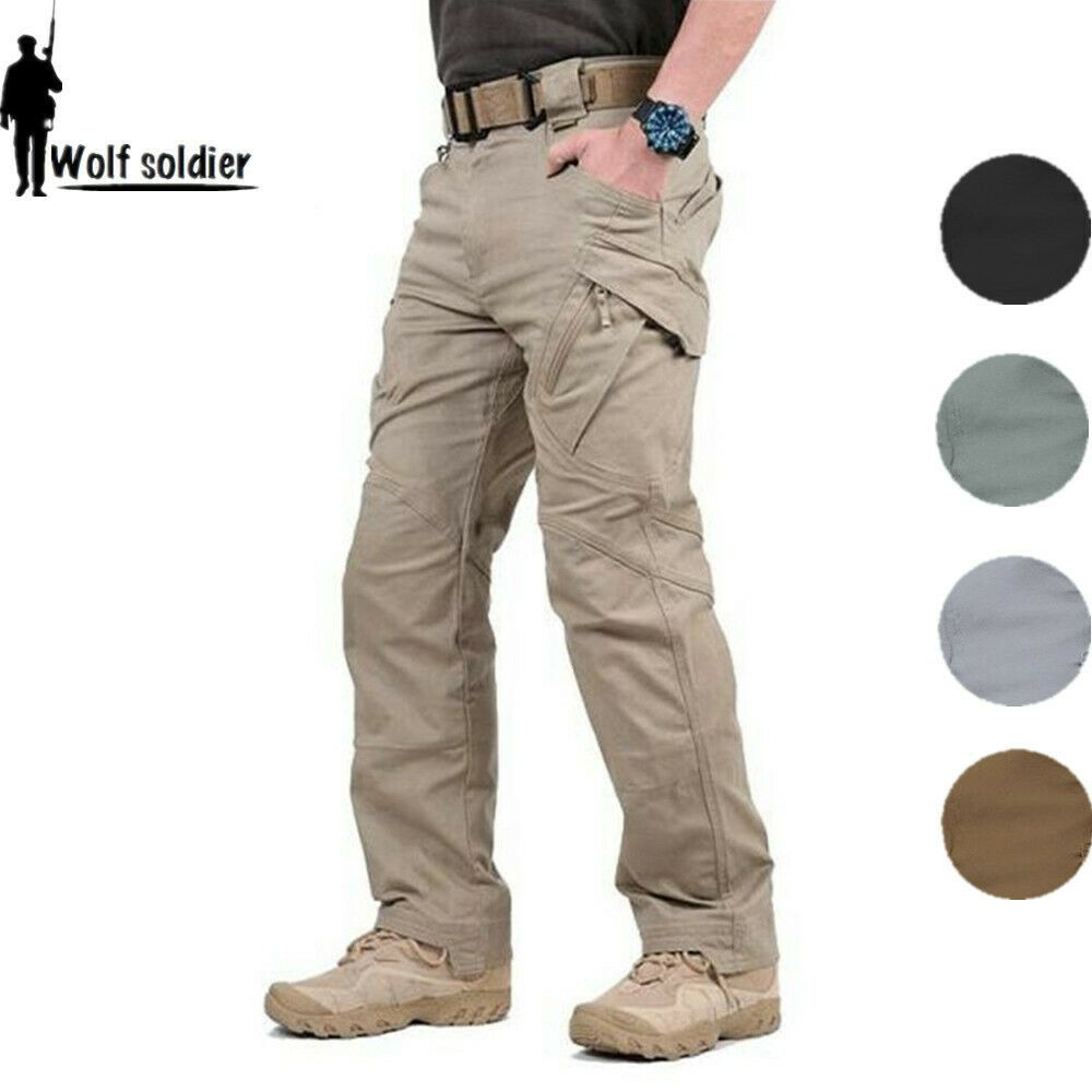 Mens Outdoor Military Tactical Combat Trousers Hiking Camping Cargo 511 Pants Fashion Clothing Shoes Ac Combat Trousers Cargo Pants Men Casual Cargo Pants