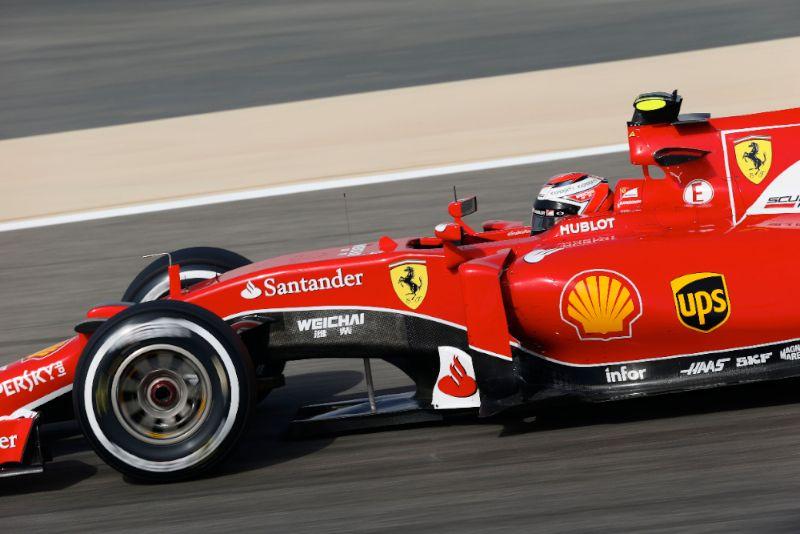 Photographs > Friday - Bahrain GP > F1 2015 > Kimi Raikkonen
