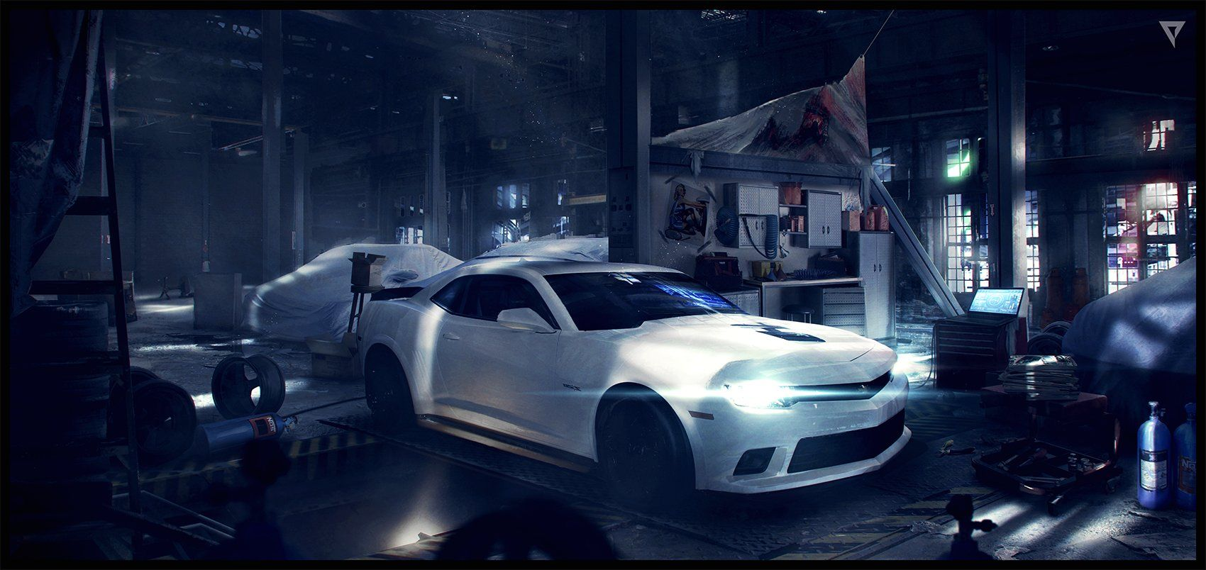 Garage Auto Nation Garage Design Concept Art Google Search Garage And Car