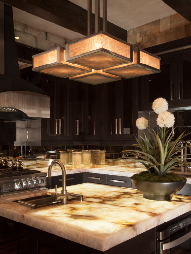 Contemporary kitchen lighting | Hammerton Lighting