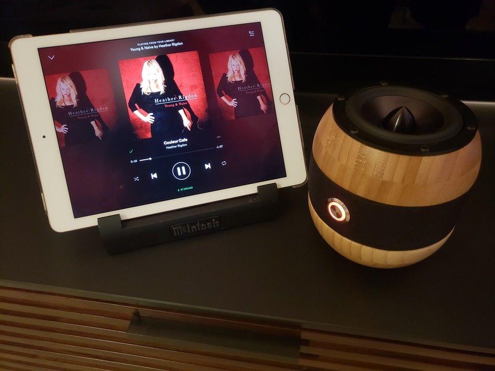 Diy ikea bluetooth speaker from bambo bowl Ikea diy