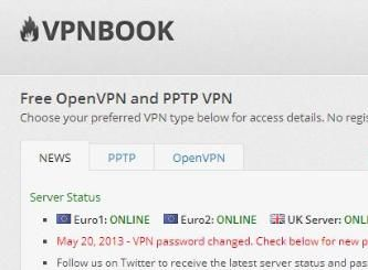 vpnbook password twitter today
