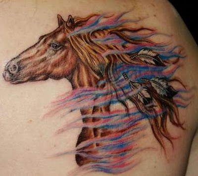 b29bd9c37 tattoos of horses for women | War horse tattoos designs | Like Tattoo