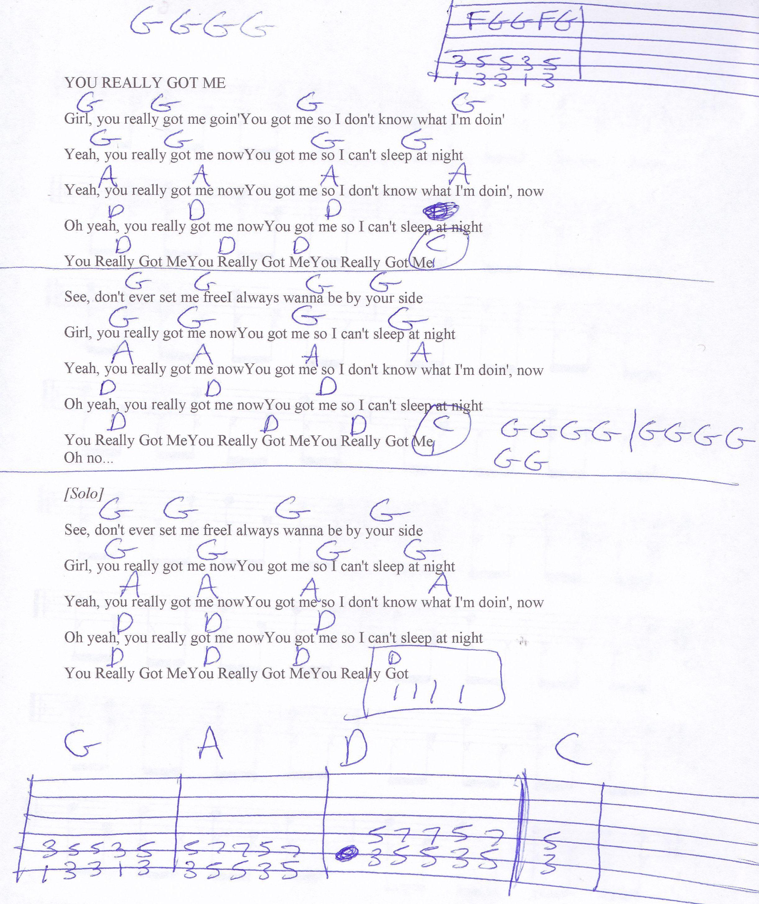guitar tabs songs