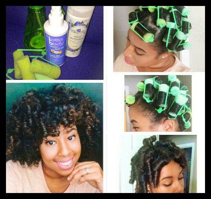 Foam Rollers Foam Rollers Hair Natural Hair Tips Short Natural Hair Styles