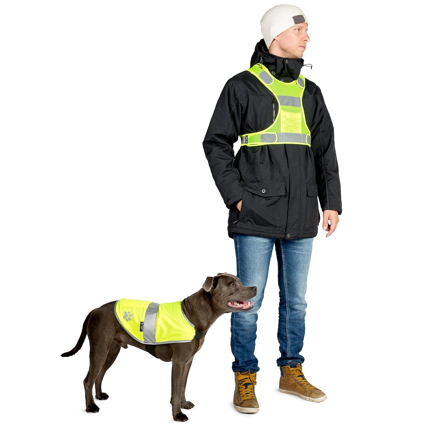 TheFriendly Swede Reflective Safety Dog Vest and
