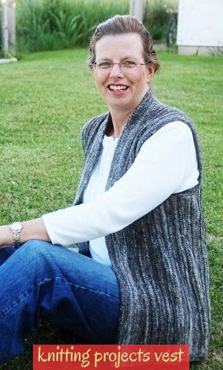 Photo of Another One On My To Do List Easy Side-To-Side Vest #knittingprojectsvest ~ eine…