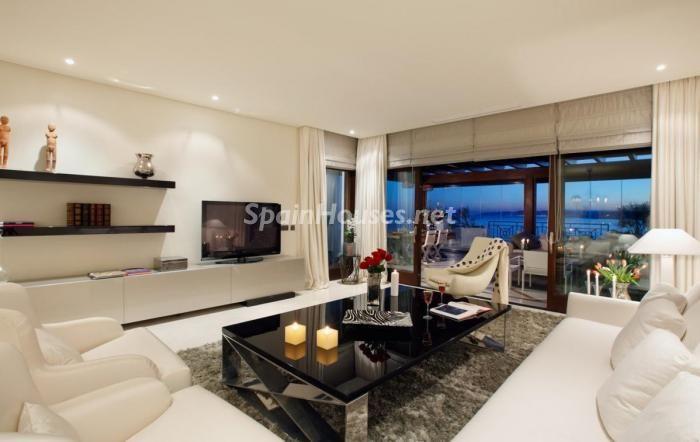 Saln con mucho estilo salon Pinterest Apartamentos de lujo