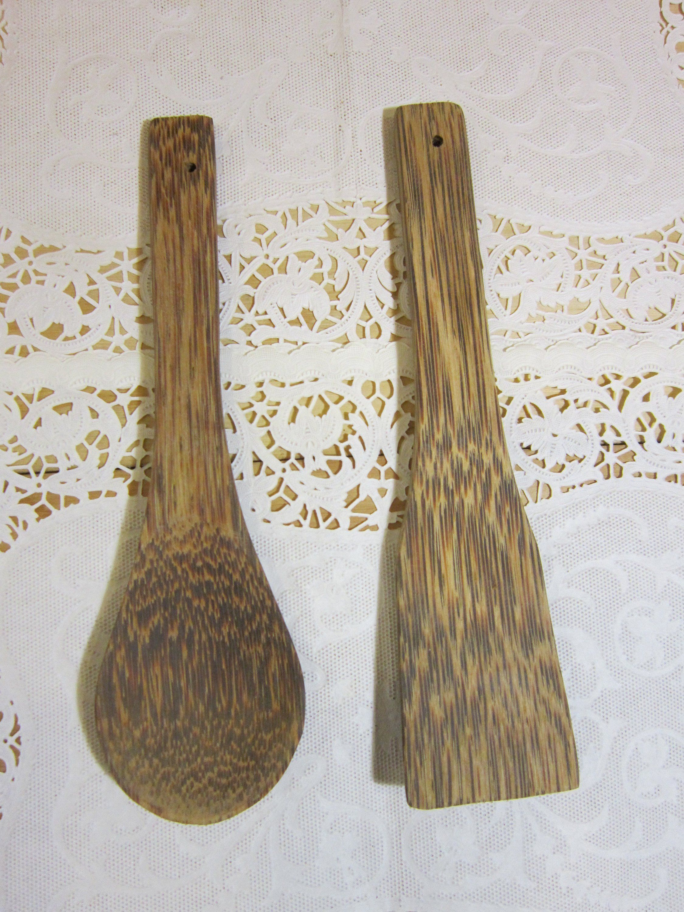 pair of wooden spoon and spatula kitchen utensils wall decor country farmhouse decor by on farmhouse kitchen utensils id=92884