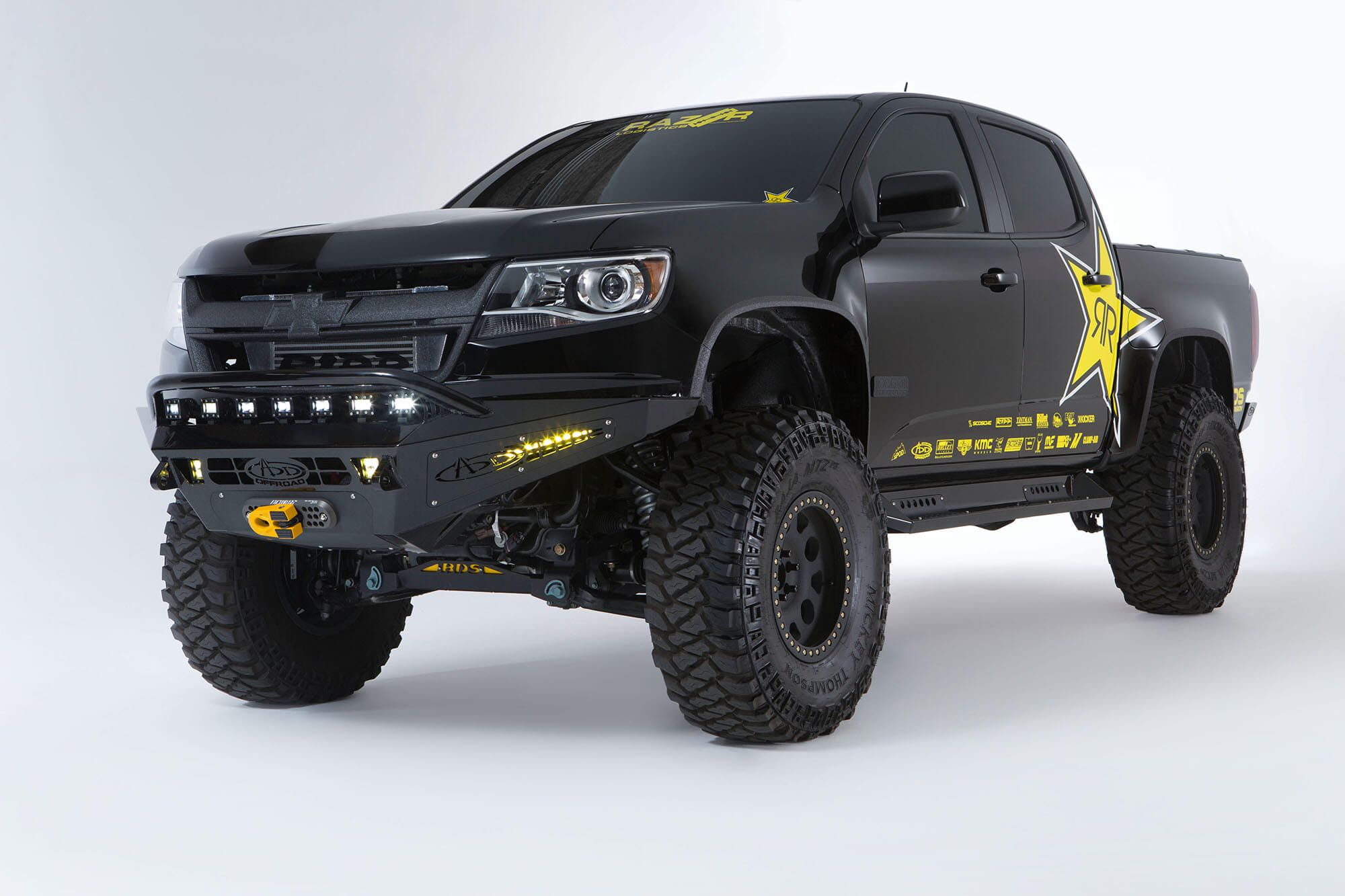 2015 Up Chevy Colorado Gmc Canyon Honeybadger Winch Front