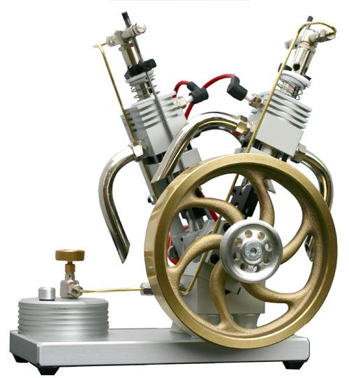 Awesome V Twin Desktop Engine Desk Toys Pinterest