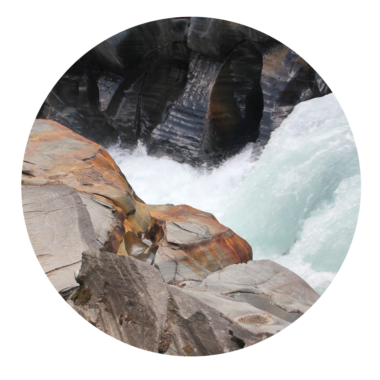 Numa Falls. Kootenay National Park, BC
