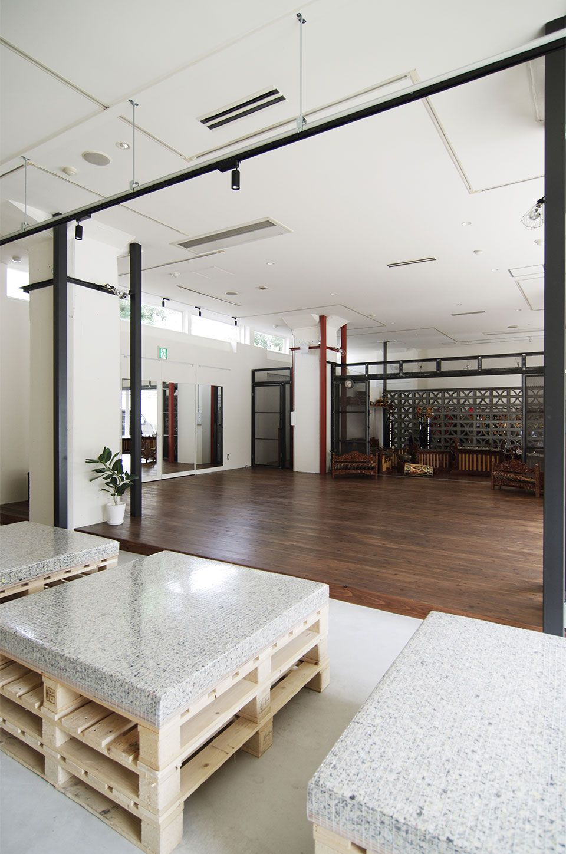 Eight Design 名古屋市中区のダンススタジオ 結緋 Yui Balinese Gamelan Dance Studio の店舗デザイン 店舗デザイン ダンススタジオ デザイン