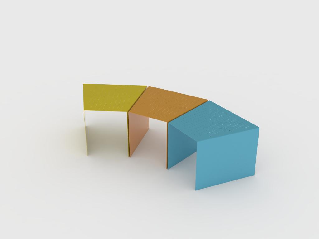 urban furniture designs. Modular Colorfull Urban Furniture Design. Summer 2015- Design: Ali Haji Hosseini Designs I