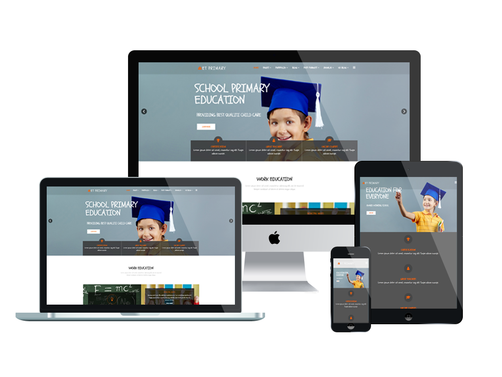 ET Primary is Responsive Joomla! template that targets for Primary ...