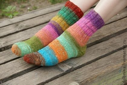 Женские носки Noro pink - розовый,носки ручной работы,носки норо,носки вязаные