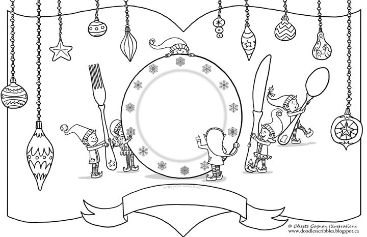 Christmas Place Mats For Kids Digital Printable For Those Of You With Kids And A Christmas Place Settings Diy Christmas Placemats Christmas Place Settings