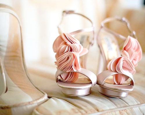 Lovely Peach Shoes