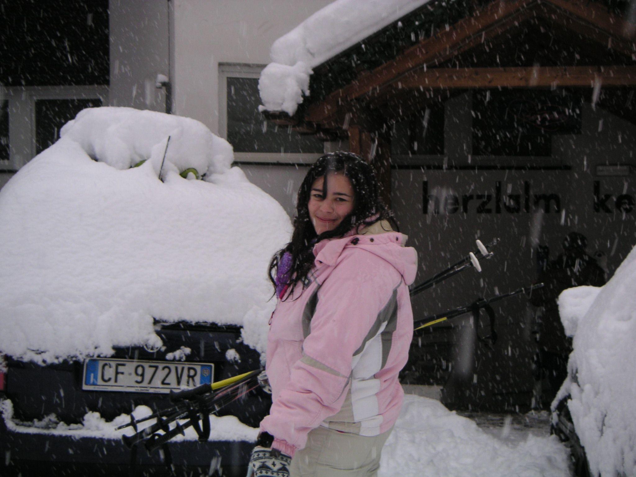Oggi ultimo giorno dell'estate. L'inverno si avvicina e vorrei vederti di nuovo sulle nevi di Sexten come un tempo.