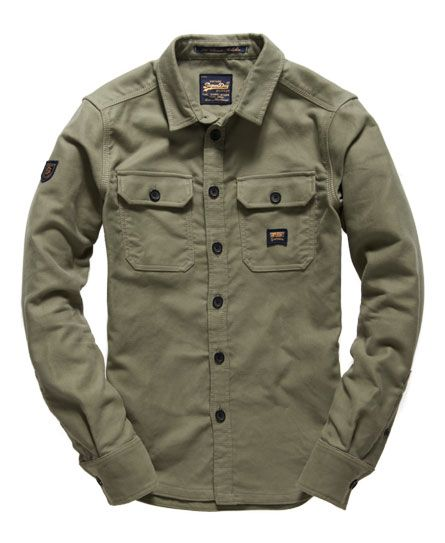 355ff0c363c614 Superdry Ultimate Moleskin Shirt Cargo Shirts, Hiking Shirts, Denim Shirts, Levis  Shirt,
