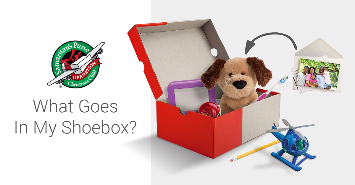 Official Shoebox Gift Suggestions Kids christmas