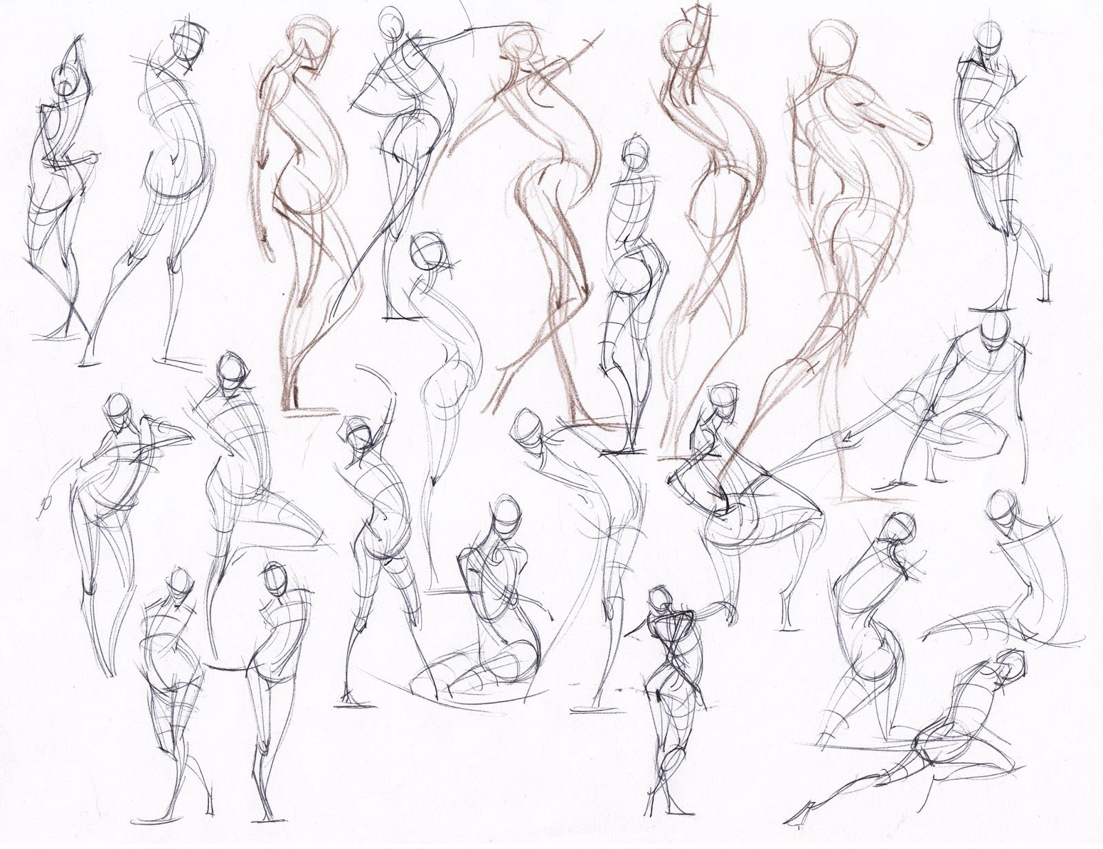 figuredrawing.info_news: Gesture and Foreshortening | Michael ...
