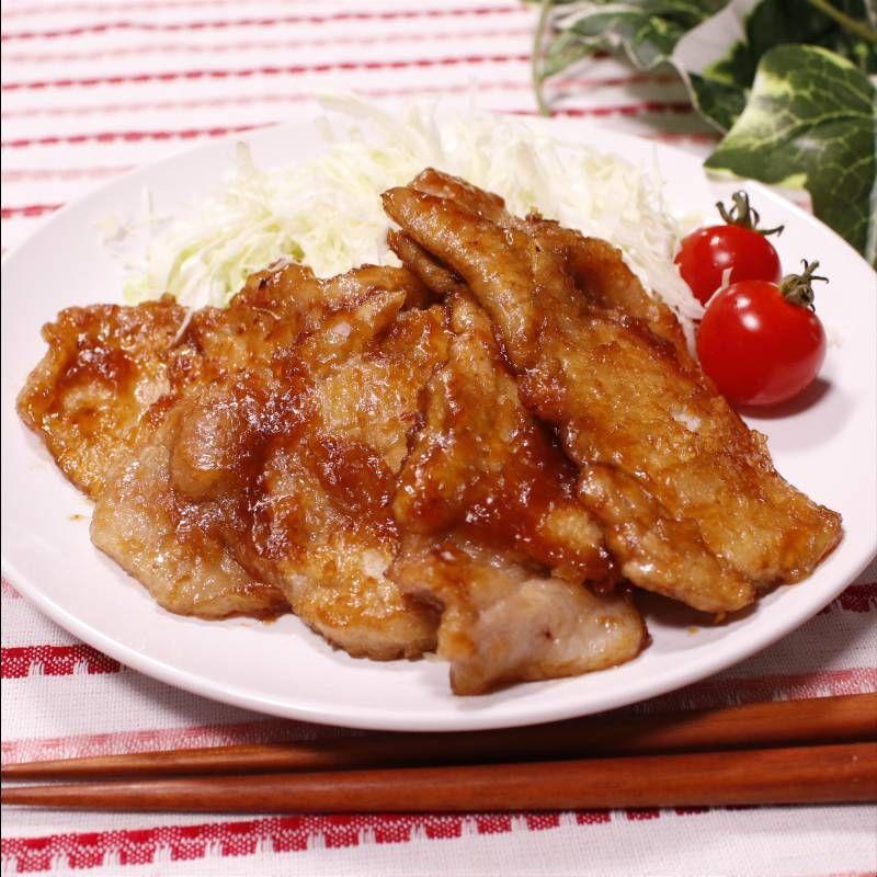 生姜 豚 焼き レシピ の