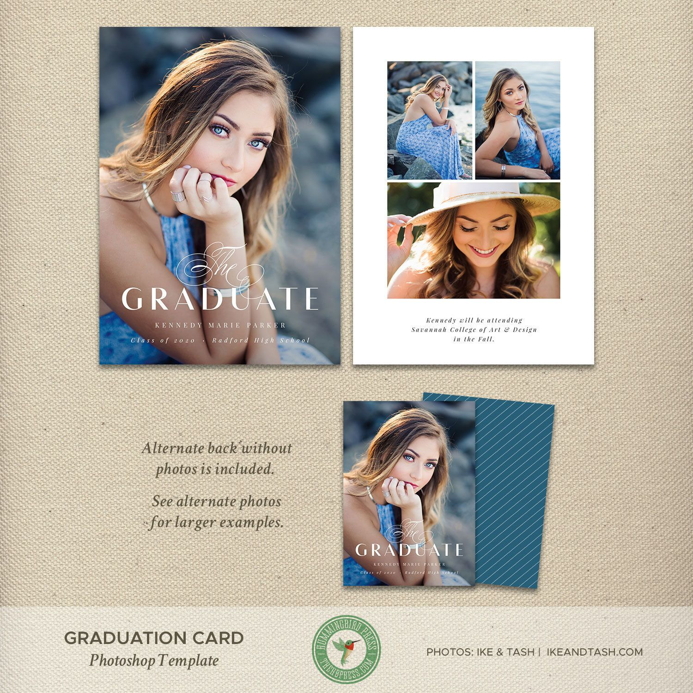5x7 Graduation Announcement Card Template Graduation Invitation Templat Graduation Announcement Cards Graduation Announcements Graduation Invitations Template
