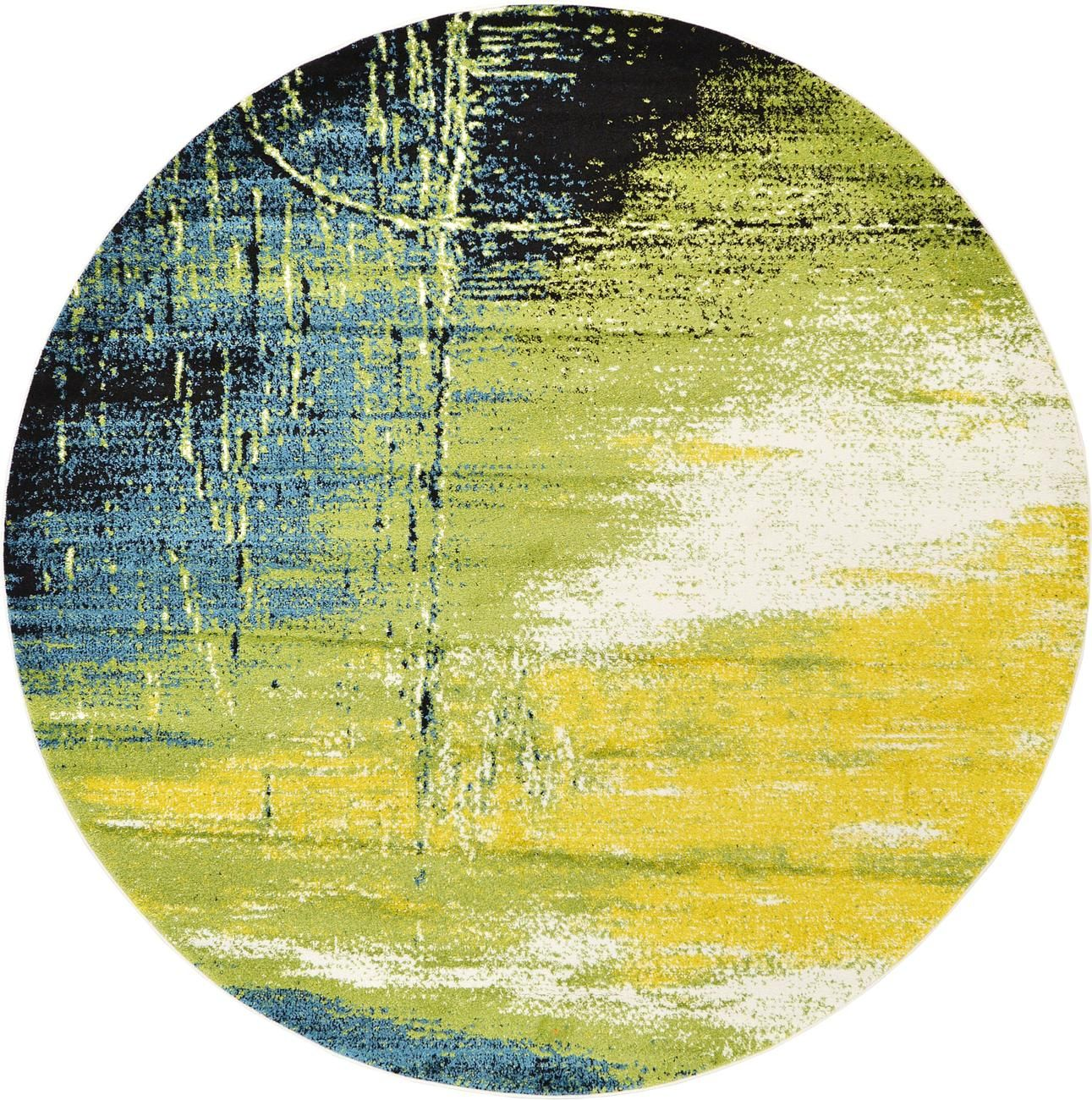 area round ideas rug yellow nuloom rugs