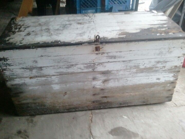 An old chest from a friend...thank u :)