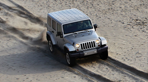The Wrangler Unlimited's iconic styling and impressive