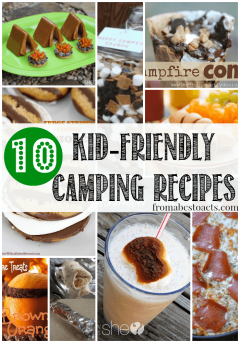 10 Camping Recipes For Kids