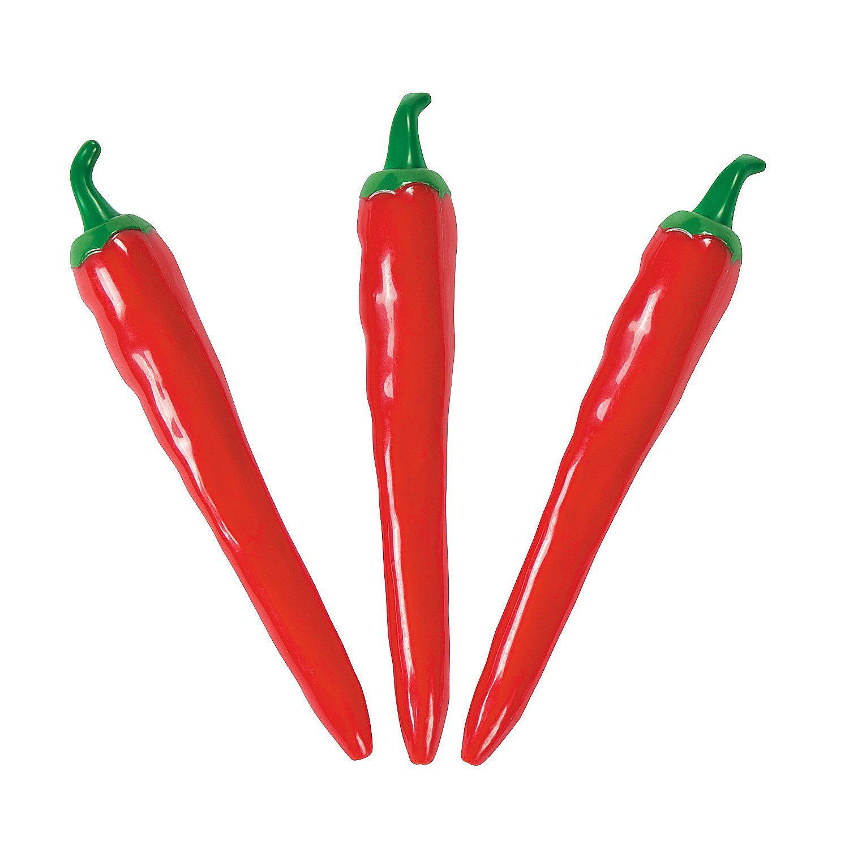 Chili Pepper Pens - OrientalTrading.com | aglow decorations ...