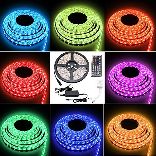 Color Changing Rope Lights Awesome Besdata Celebration Lighting 164Ft 5M Waterproof Rope Lights 300 2018