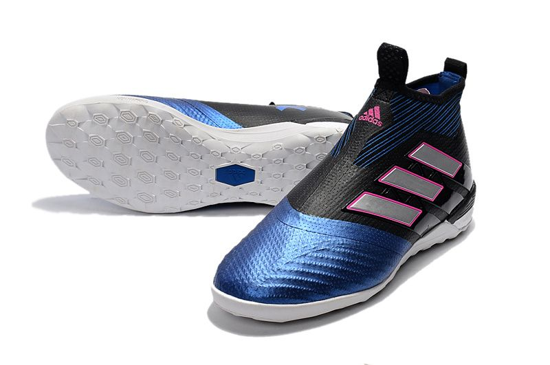 adidas ACE Tango 17 Purecontrol IC - Core Black White Blue save will free  delivery within 7 Days!