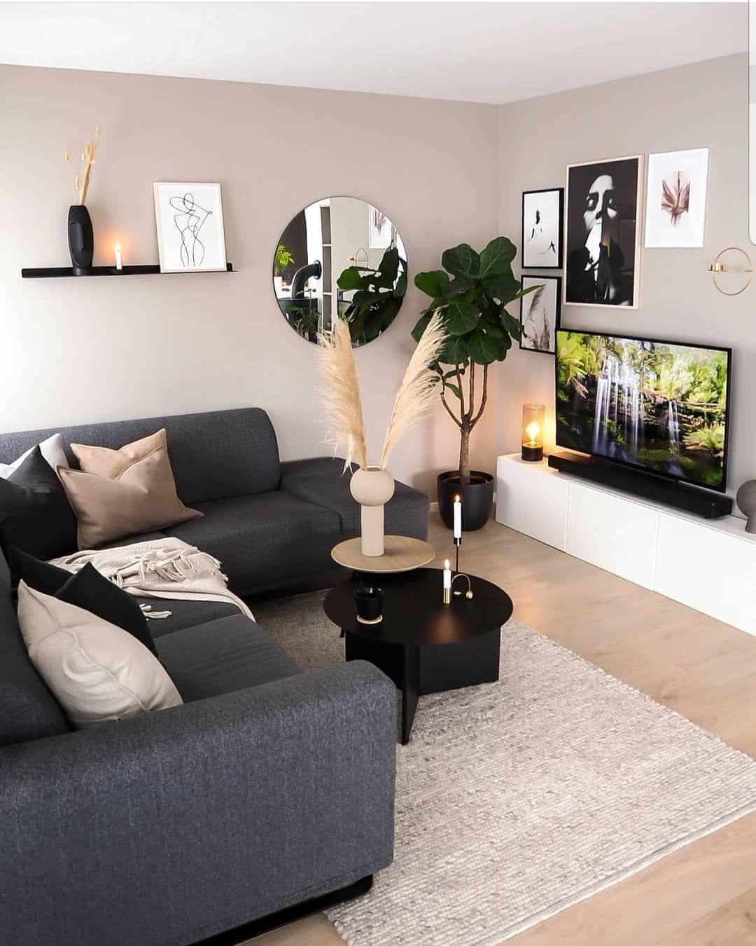 Inspire Me Home Decor Instagram Home Inspiration Inspire Home Small Apartment Decorating Living Room Living Room Decor Apartment Living Room Decor Modern