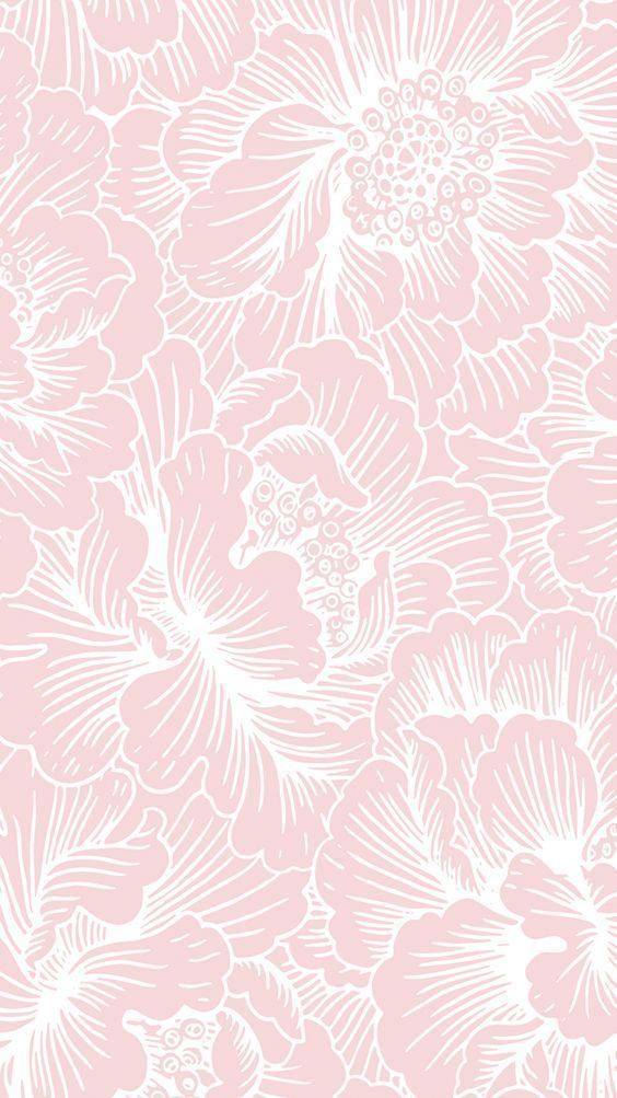 Image for CandyShell Inked by Speck Wallpaper – FreshFloral Pink/River Blue: – MUSE & MARLOWE