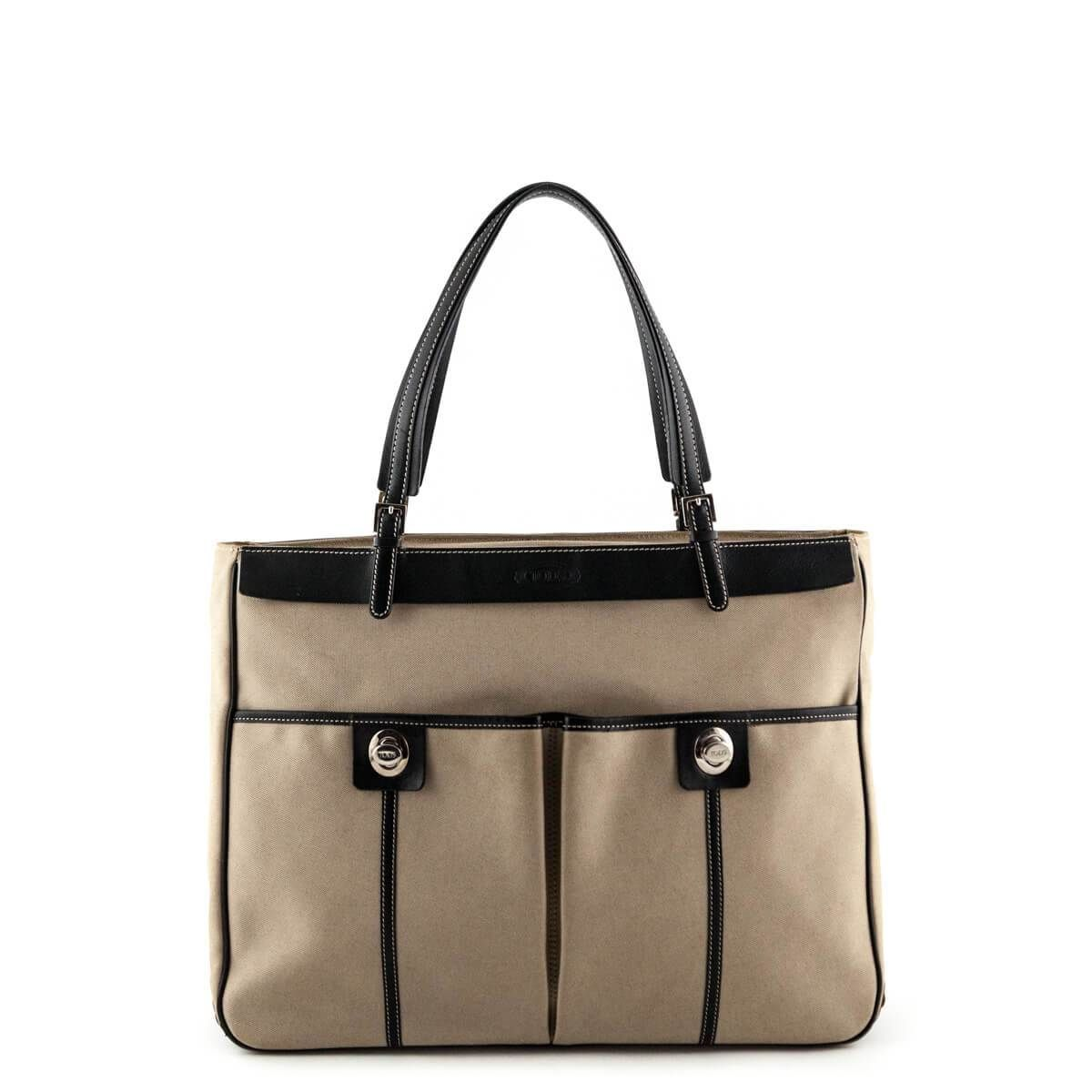 Tod s Beige Turnlock Tote - LOVE that BAG - Preowned Authentic Designer  Handbags -  950 CAD 5f5dc60513789