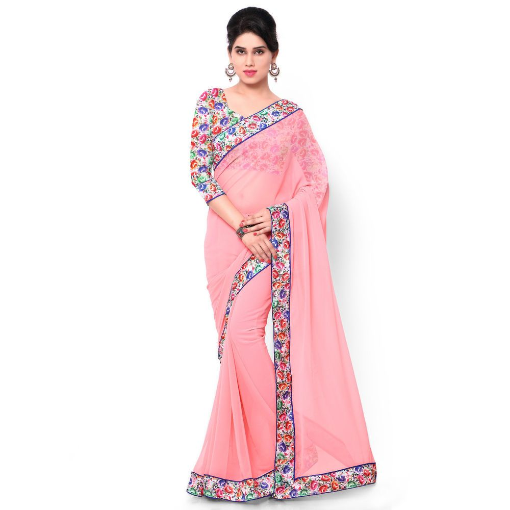 Ethnic Dress Partywear Indian Wedding Saree Designer Bollywood Sari ...