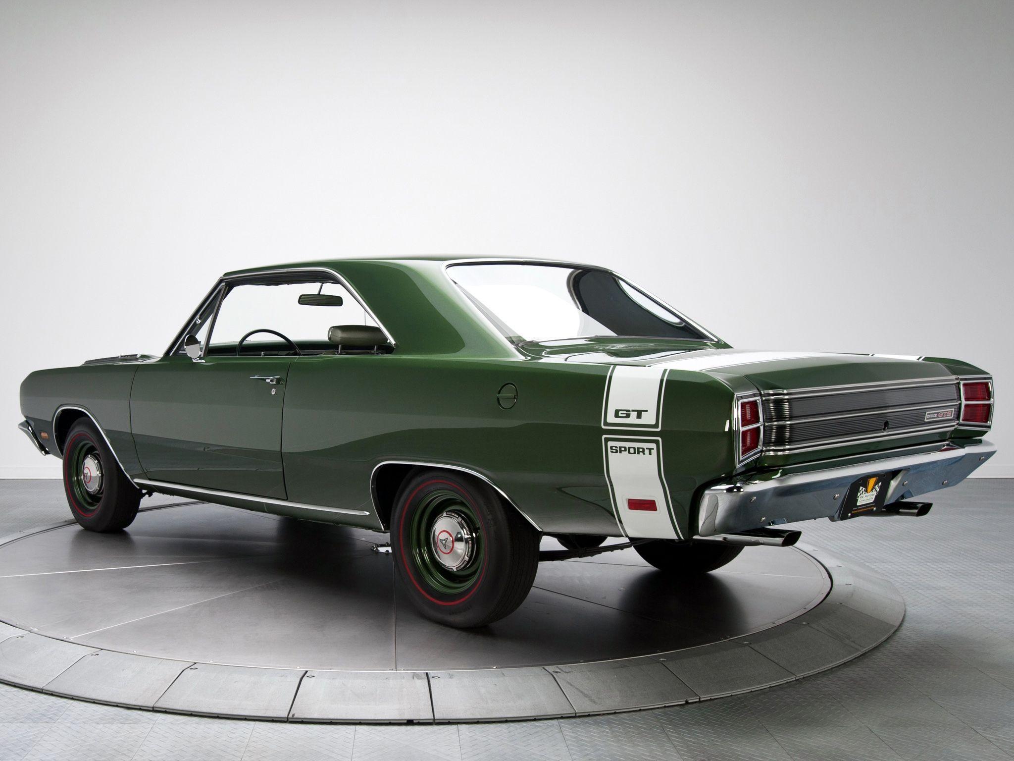 1969 Dodge Dart Gts 440 Dodge Muscle Cars Dodge Dart Vintage