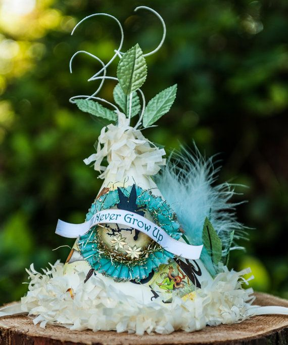 Tinker bell party hat. So made for Amanda!
