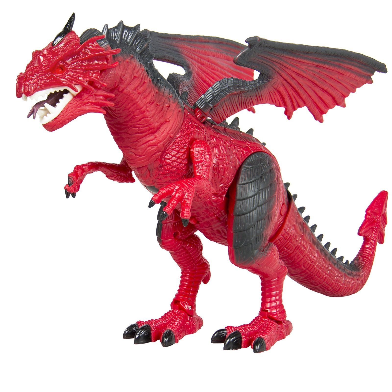 Planet Dinosaur Dragon Battery Operated Sound Walking Toy Dinosaur Flap Wings