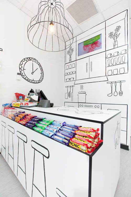 The Candy Room By Red Design Group Retail Interior Design Candy