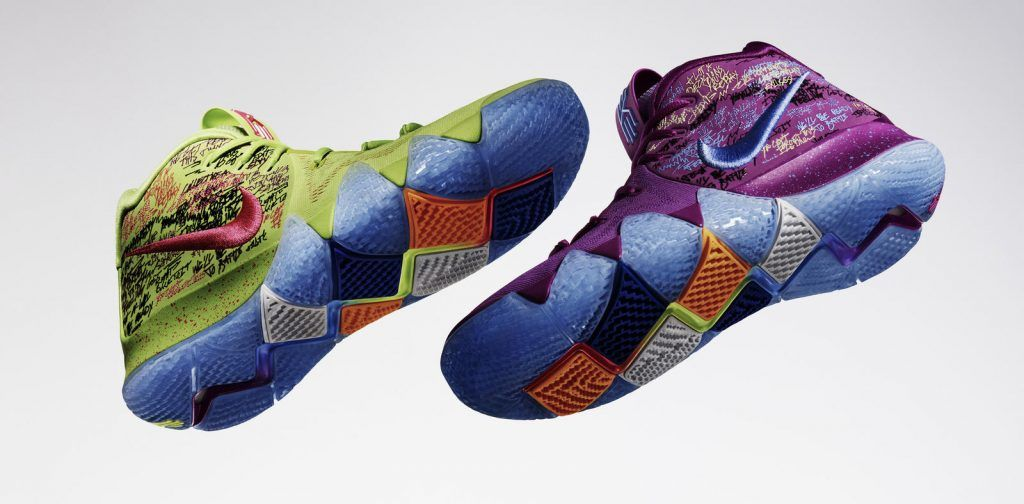 The Kyrie with Full Length Zoom Air WearTesters