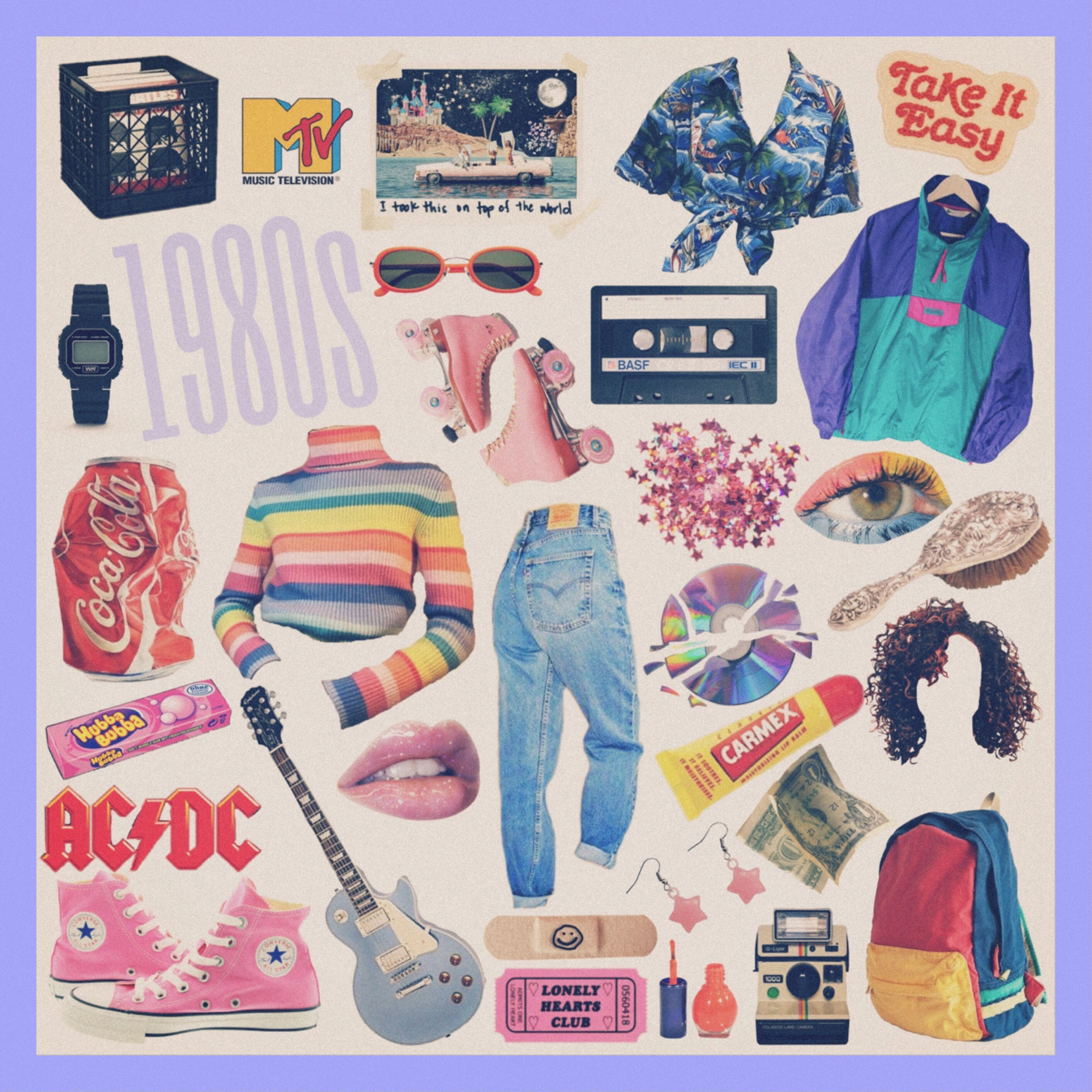Aesthetic 80s Outfits Tumblr