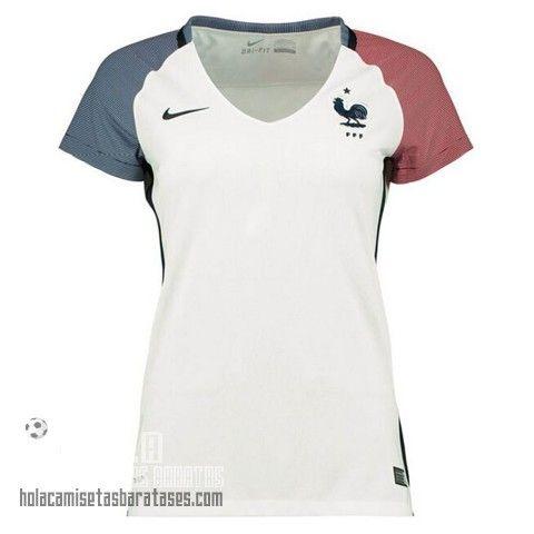 Camiseta Mujer Segunda Francia Euro 2016 €15.5  15a82bf966dd0