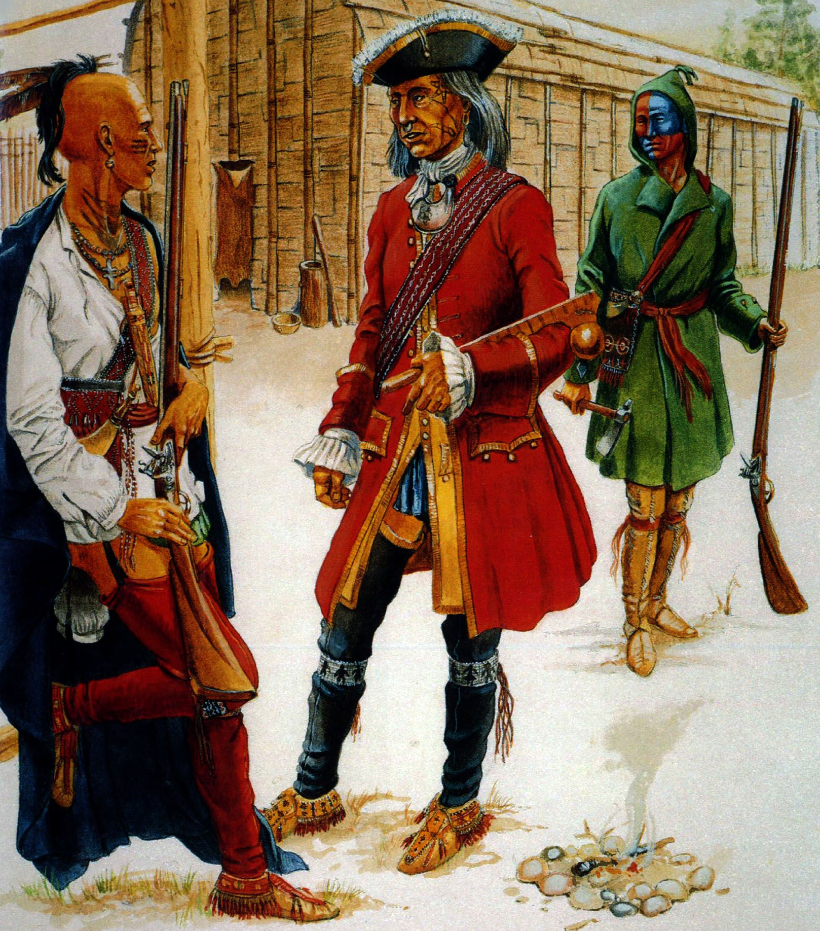 Canadian Iroquois The Seven Years War
