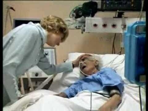 Diana, always so loving & gentle with the elderly.